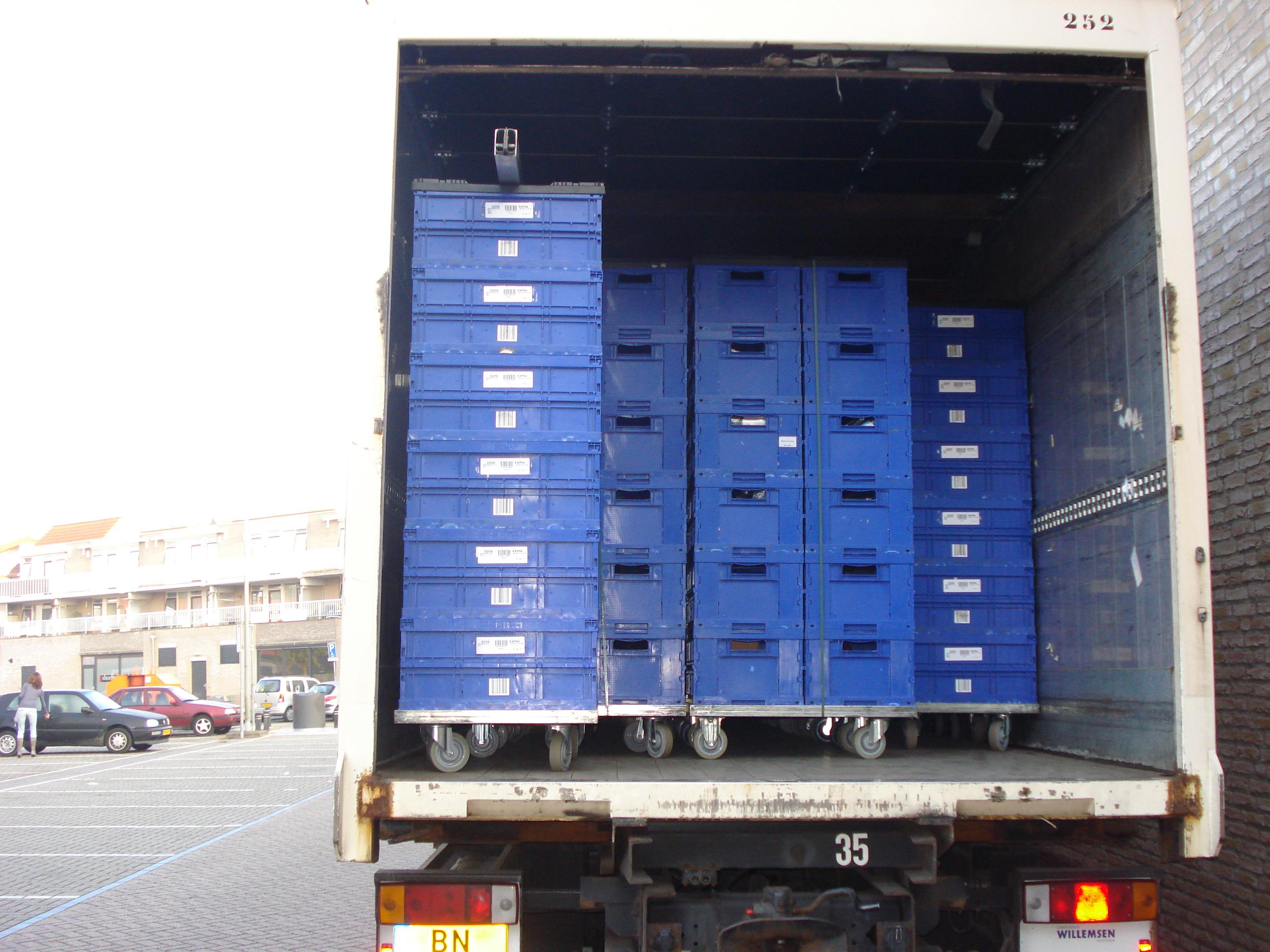 het werk van een HEMA distributie chauffeur - specialistisch vervoer ...